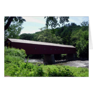 Covered Bridge, S Cyr Greeting Cards