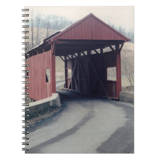 Covered Bridge Spiral Notebooks