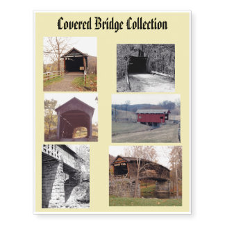 Covered Bridge Tattoo Collection
