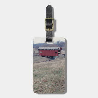 Covered Bridge Travel Bag Tags