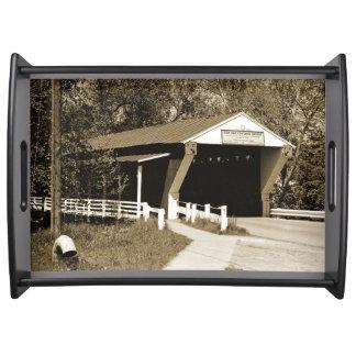 Covered Bridge Service Tray