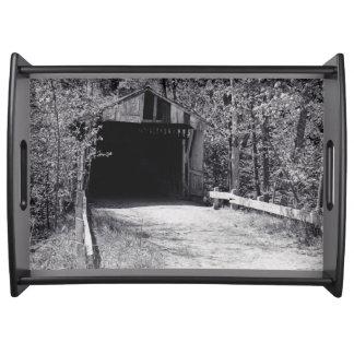 Covered Bridge Service Trays
