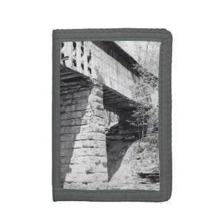 Covered Bridge Trifold Wallet