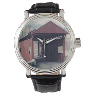 Covered Bridge Wrist Watch