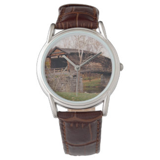 Covered Bridge Wrist Watches