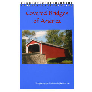 Covered Bridges of America wall Calendar