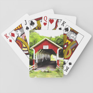 Covered Bridges Playing Cards