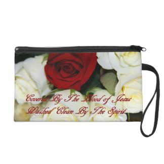 Covered By The Blood Wristlet Clutch