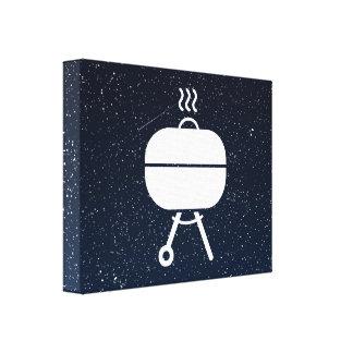 Covered Grills Minimal Canvas Print