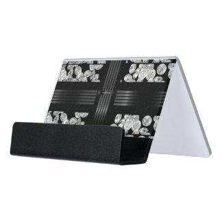 Covered In Diamonds Desk Business Card Holder