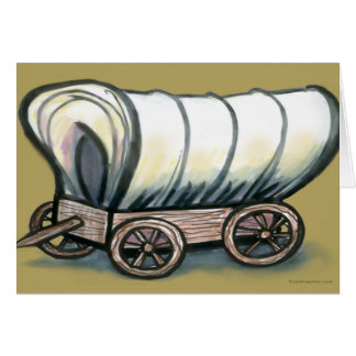 Covered Wagon Card
