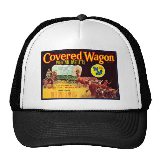Covered Wagon Trucker Hats