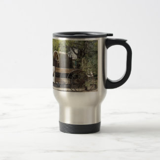 Covered Wagon Stainless Steel Travel Mug