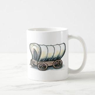 Covered Wagon Classic White Coffee Mug