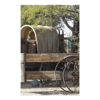 Covered Wagon Stationery Design