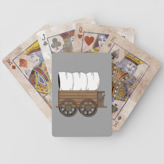 Covered Wagon - Western Poker Deck