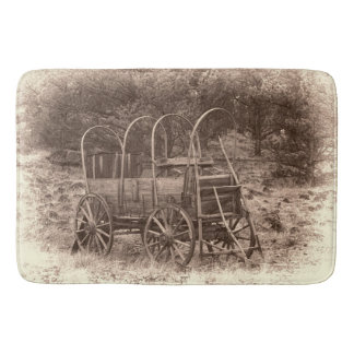 COVERED WAGON BATH MATS