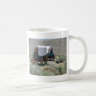 Covered Wagons Basic White Mug
