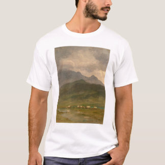 Covered Wagons by Bierstadt (0101A) T-Shirt