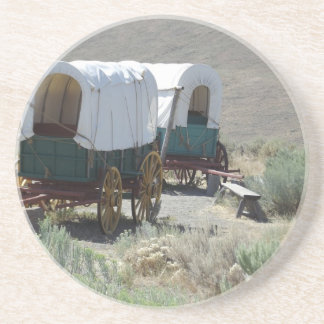 Covered Wagons Drink Coasters