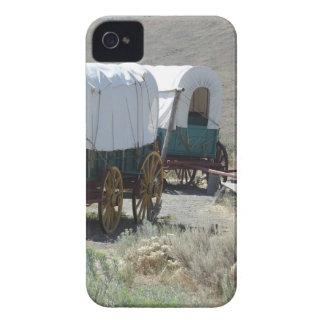 Covered Wagons iPhone 4 Case