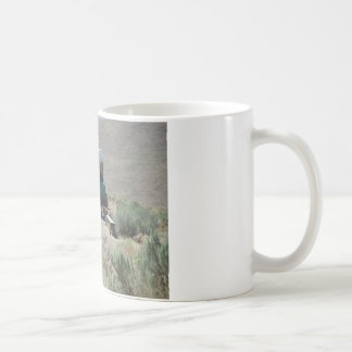 Covered Wagons Basic White Mug