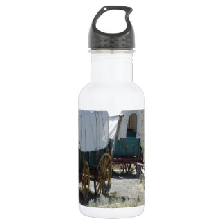 Covered Wagons 18oz Water Bottle