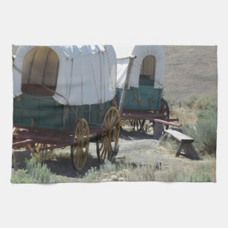 Covered Wagons Kitchen Towel