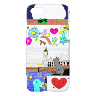 covered with pictures iPhone 7 case