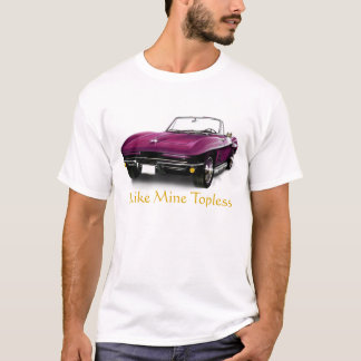 Covertible Corvette T-Shirt