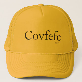 Covfefe, 2017 trucker hat