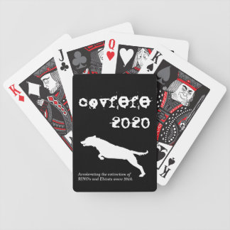 covfefe 2020 bicycle playing cards