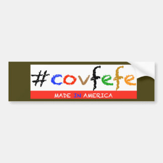 #covfefe Bumper Sticker