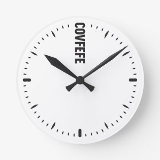 Covfefe clean USA MAGA as said by Trump fake News Round Clock