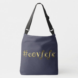 #covfefe! crossbody bag