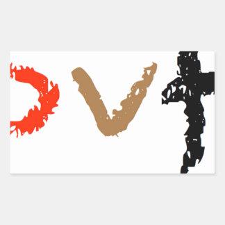 #covfefe Made In America Rectangular Sticker