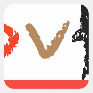 #covfefe Made In America Square Sticker