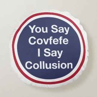 Covfefe Round Cushion
