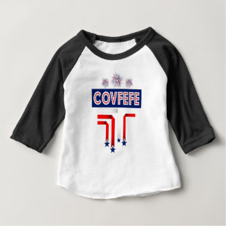 Covfefe Trump Joke for 4th of July Celebration Baby T-Shirt