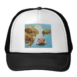 Cow#348 Trucker Hats