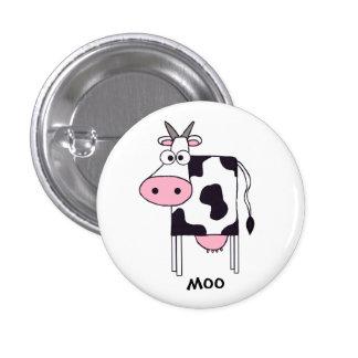 Cow 3 Cm Round Badge