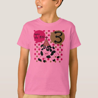 Cow 3rd Birthday (pink) T-Shirt