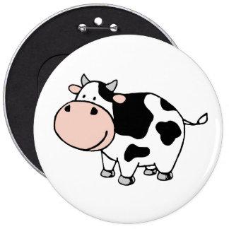 Cow 6 Cm Round Badge