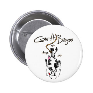Cow-A-Bungee Round Button