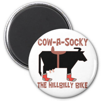 Cow A Socky Magnets