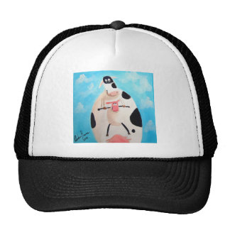 COW AND SHEEP MESH HAT