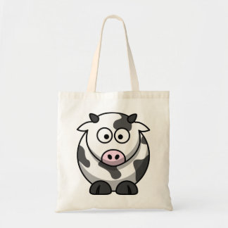 Cow Canvas Bags