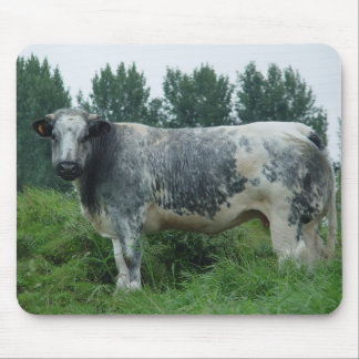 Cow Belgian Blue Mouse Pad