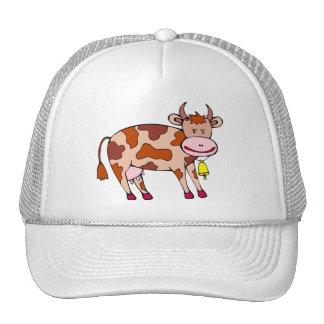 Cow Bell Mesh Hats