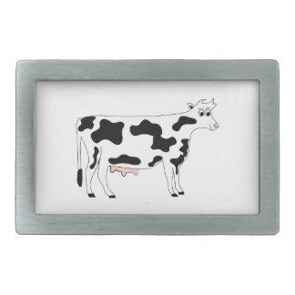Cow Rectangular Belt Buckles
